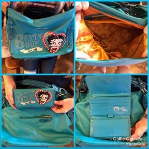 Handbags - Betty boop purse with matching wallet